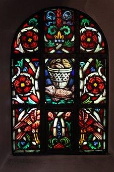 Church Window, Bread Multiplication, Church
