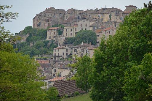 Holiday, Medieval, Cordes-sur-ciel, France South West