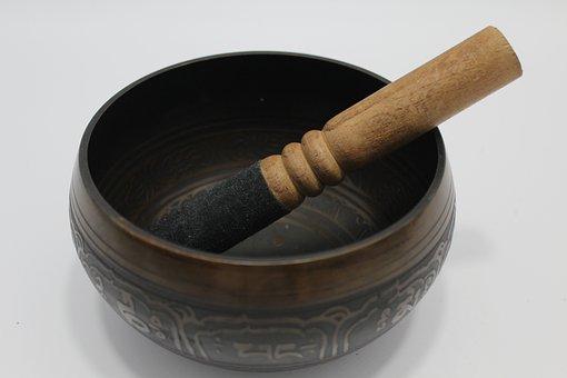 Tibetan Singing Bowl Stick, Buddhism, Zen, Craft