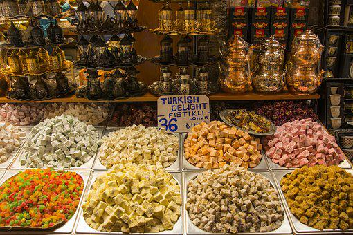 Turkish Delight, Confectionery, Food, Delight, Sultan