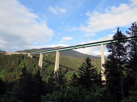Europe Bridge, Sky, Bridge, Building, Austria