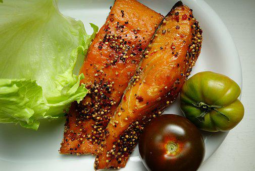 Salmon, Smoked Salmon, Fish, Food, Nutrition