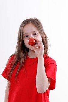 Tomato, Nose, Clown, Vegetables, Food, Fresh