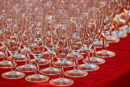 Glasses, Champagne Glasses, In The Free, Glass