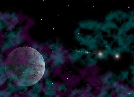 Planet, Interplanetary, Intergalactic, Galaxy, Space