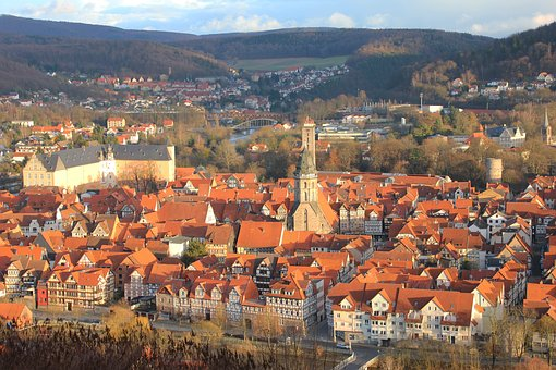 Hann, Münden, Old Town, Truss, City, Lower Saxony