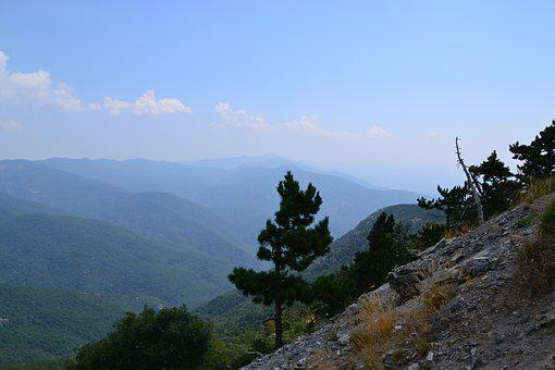 Mount Ida, Mountain