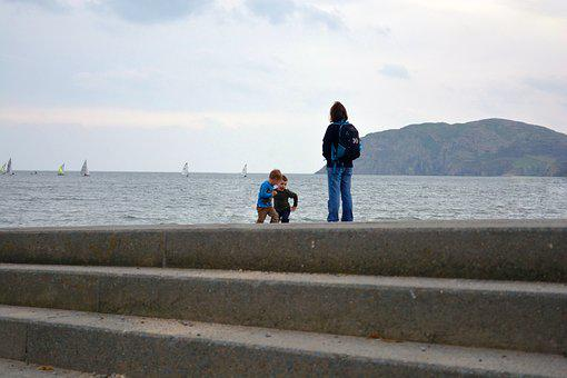 Seaside, Family, Adventure, Outdoors, Nature, Island
