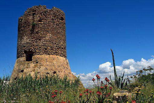 Tower, Lapsed, Old, Ruin, Leave, Architecture, Building