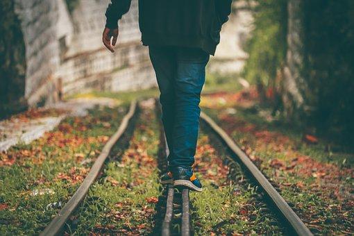 Alone, Railway, India, Pain, Solo, Love
