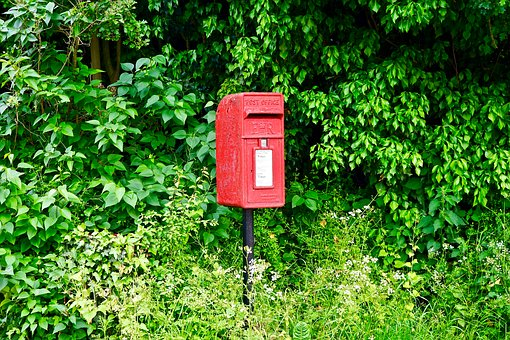 Post Box, Red, Post, Box, Delivery, Mail, Letter