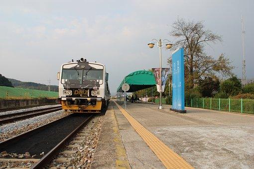 Train, Railway, Transportation, Train Station