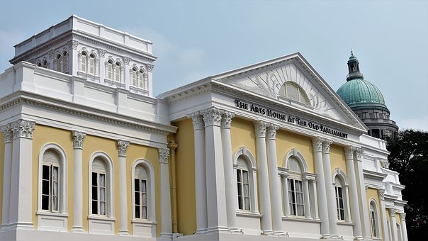 Old, Structure, Outdoor, City, Design, Singapore