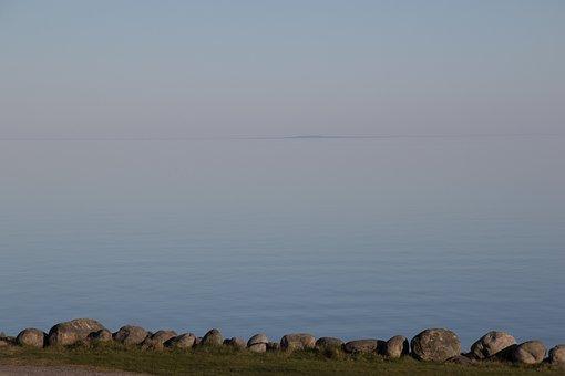 Water, Horizon, Sea, Sunset, Summer, Himmel, Blue Sky