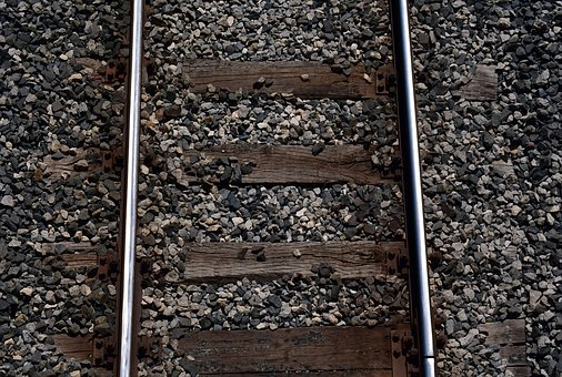 Track, Railroad Track, Track Bed, Seemed, Train