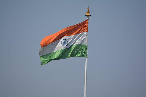 Flag, India, Tricolor, National, Country, Symbol