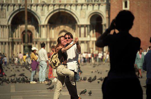Woman, Love, Happiness, Venezia