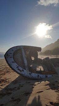 Wreck, Ship Wreck, Beach, Ship, Rust, Australia, Lapsed