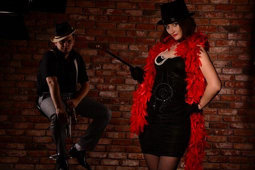 Cabaret, Mafioso, Actress, Couple, Bandits, 30-ies