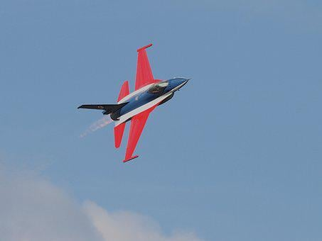 Military, Jet, Aircraft, F-16, Airplane, Airshow