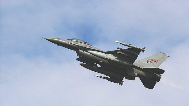 Aircraft, Jet, Fighter, Airplane, Military, F-16