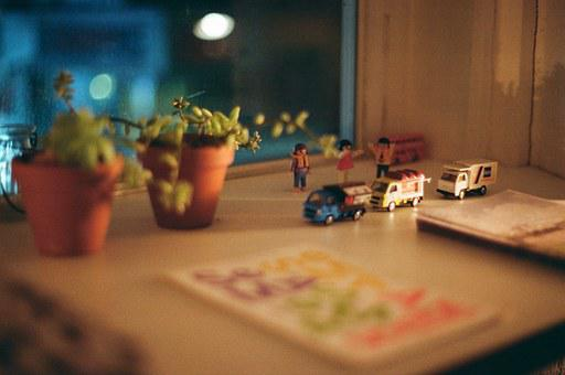 Photo, Cafe, Atmosphere, Color, Props, Toy