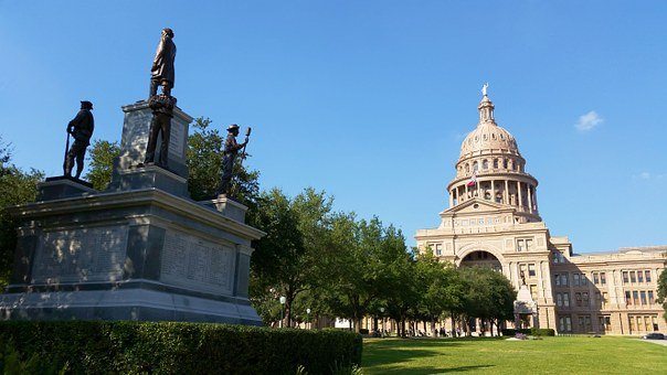 Park, Capitol Hill Austin Tx, Governmental, Building