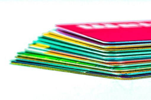 Credit Cards, Check Cards, Ec Cards, Cashkarten