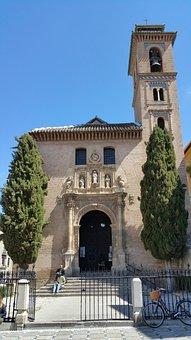 Iglesia De San Gil Y Santa Ana, Church, Granada