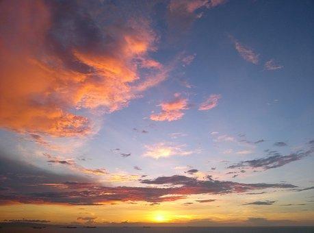 Sunset Hill Nose, Dairy, Venezuela, Sky, Clouds