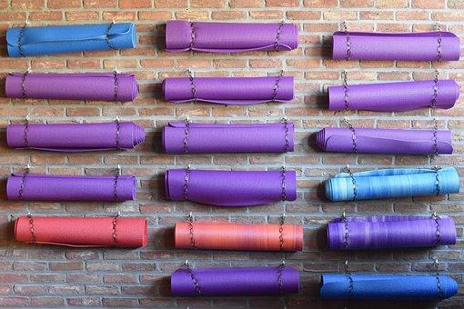 Yoga Mat, Mats, Colors, Yoga, Wall, Relaxation, Mat