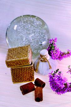 Glass Ball, Crystal Ball, New Age, Glass, Transparent