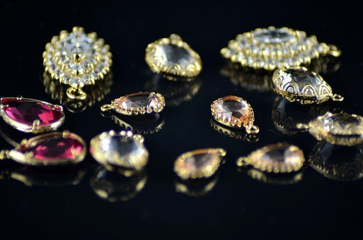 Gold, Crystal, Jewelry, The Jeweler, Gemstones, Golden