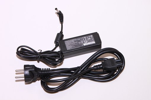 Adapter, Black, Electronics, Ion, Plastic, Power