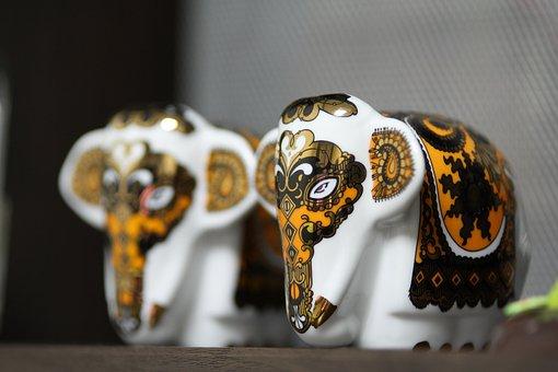 Accessories, Ornament, Interior Props, Props, Elephant