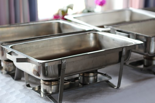 Food Warmers Pans, Pans, Party Service, Catering