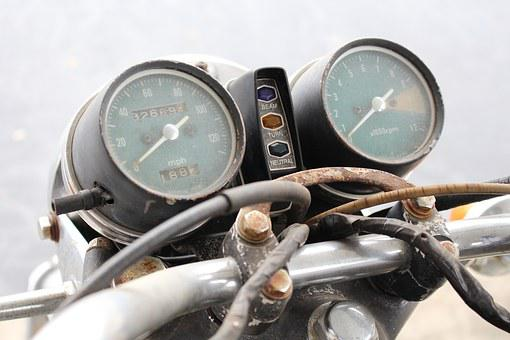 Motorcycle, Honda, Cb450, Vintage Motorcycle, Gauges