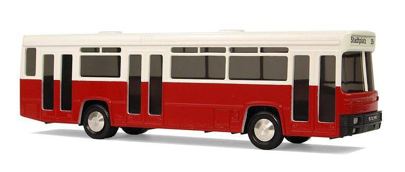 Steyr, Hua Type Ss11, Buses, Austria, Model Buses