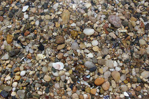 Pebbles, Rocks, Water, Ocean, Nature, Stone, Landscape