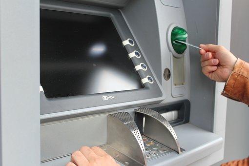 Atm, Withdraw Cash, Map, Ec Card, Card Slot