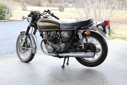 Motorcycle, Honda, Cb450, Vintage Motorcycle
