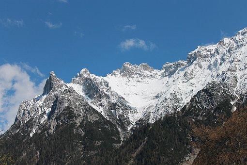 Karwendel, Bavarian Alps, Quad Tip, Mountain, Alpine