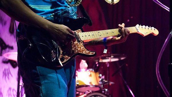 Guitar Player, Guitar, Solo, Player, Music, Rock