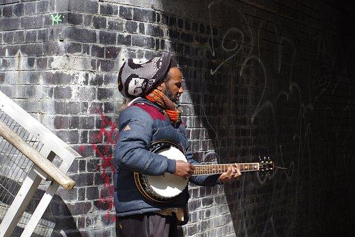 Musician, Music, Instrument, Musical, Busker, Street