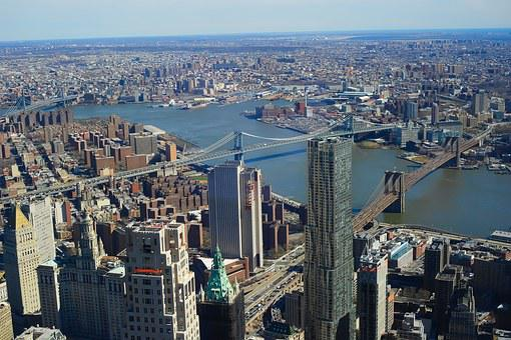 Brooklyn Bridge, New York, Manhattan, Suspension Bridge