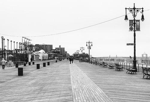 Coney Island, New York, Nyc, Beach, Coney, Natural