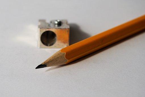 Pencil, Pencil Sharpener, Tips On, Write