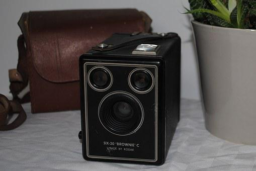Camera, Flea Market, Former, Photography, Picture