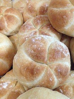 Kaiser Rolls, Real Bread, Pan