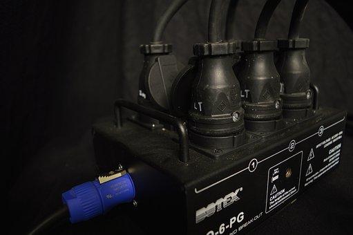 Current, Socket, Plug, Powercon, Distributor, Schuko